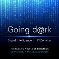 "Key Visual Fachtagung ""Going dark – Signal Intelligence im IT-Zeitalter"""